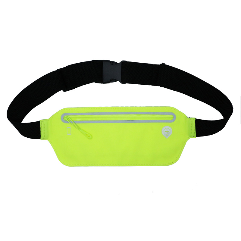 Unisex Sport Waist Bag Pack cu Headphone Jack şi Zipper
